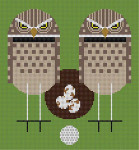 Birdie Charley Harper HC-B149 13 Mesh 81⁄2 x 9 Treglown Designs