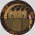 Armadittos Charley Harper HC-A153 18 Mesh 14 x 14 Treglown Designs