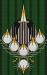 Bittern Suite Charley Harper HC-B135  13 Mesh 83⁄4 x 13 Treglown Designs