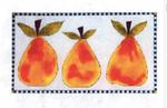 3LT-102-3 Little  Pears 13 Mesh 5 x 9 Renaissance Designs
