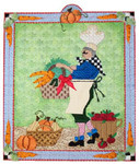 FC-101 The Vegetable Chef 18 Mesh 8 x 9 Renaissance Designs