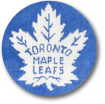 "1049 Toronto Maple Leafs 4.5""rnd 18 Mesh  CBK Designs"