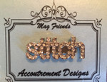 """stitch"" Glamorous Accoutrement Designs Needle Minder"