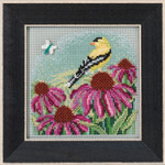 MH141712 Goldfinch (2017) Mill Hill Buttons and Bead Kit