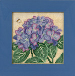 MH141715 Hydrangea (2017) Mill Hill Buttons and Bead Kit