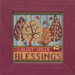 MH141725 Blessings (2017)  Mill Hill Buttons and Bead Kit