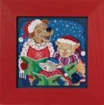 MH141731 Caroling Trio (2017) Mill Hill Buttons and Bead Kit
