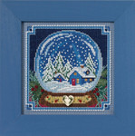 MH141734 Snow Globe (2017) Mill Hill Buttons and Bead Kit