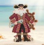 MH201731 Jamaica Santa (2017) Mill Hill Kit Santa Ornament Kit