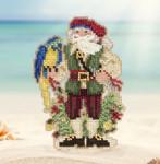MH201732 Trinidad Santa (2017) Mill Hill Kit Santa Ornament Kit