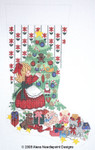 7114 13 Mesh Alexa Designs Stocking