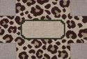 BRK200 J. Child Designs Brick leopard
