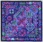 COLOR STUDY: STARRY NIGHTS Laura J Perin Designs Counted Canvas Pattern Only