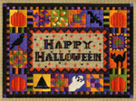 HAPPY HALLOWEEN Laura J Perin Designs Counted Canvas Pattern Only