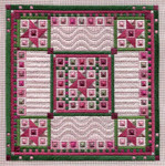 COTTON CANDY (CC) 176 x 176 - 18ct canvas Laura J Perin Designs Counted Canvas Pattern Only