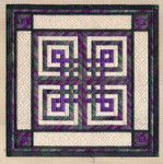 CELTIC KNOTS Laura J Perin Designs Counted Canvas Pattern Only