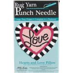 "Love Heart Pillow Punch Needle Kit 15""X16"" M C G Textiles"