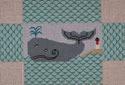 BRK206 J. Child Designs Brick whale