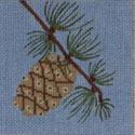 ctr104 J. Child Designs pinecone
