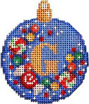 AA-590 Candy Confetti Alpha Mini Ball Ornament Associated Talents