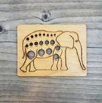 Elephant Knitting Needle Gauge Katrinkles