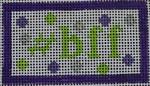 HT23 #bff 18 Mesh Kristine Kingston Needlepoint Designs