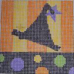152 Hat5x5 10 mesh Beth Gantz Designs