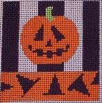 150Pumpkin 5x5 14 mesh Beth Gantz Designs