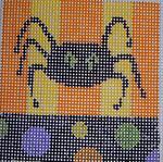 151Spider 5x5 14 mesh Beth Gantz Designs