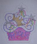 1010 Princess Cupcake Mesh Beth Gantz Designs