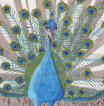 Waterweave C155 Peacock 18 mesh 10 x 10