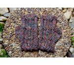 P-J-155 TREE TRUNK FINGERLESS GLOVE Jojoland Knitting Pattern