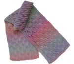 p-c244-01 Jojoland Knitting Pattern LEAFY DIAMOND