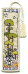 MPCP122 SMALL WHITE CHURCH BOOKMARK Michael Powell