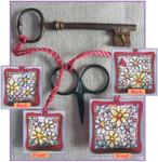 MPKX105 KIT Flowers - Scissor/Key Keep Michael Powell