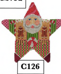 C126 Holiday Sweets Star Santa 18 Mesh Shelly Tribbey Designs