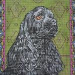 BR329 Barbara Russell Ho Ho Dog Collar 1 x 12