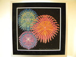 14-1519 Beauty Of Fireworks by Paula's Patterns