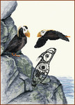 14-1547 Tufted Puffin by Stitching Studio, The