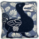 60012 Fine Cell Needlepoint Kit Blue Dodo