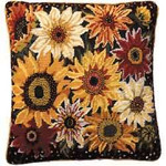 40024 Primavera Needlepoint Kit Sunflower Harvest