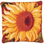 40021 Primavera Needlepoint Kit Single Sunflower