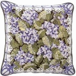 40002 Primavera Needlepoint Kit Blue Hydrangea