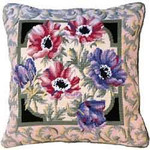 40008 Primavera Needlepoint Kit Anemones