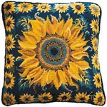 40020 Primavera Needlepoint Kit Sunflower Garden