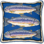 44082 Primavera Needlepoint Kit Trout
