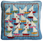52006 Regatta Cushion One Off Needlework