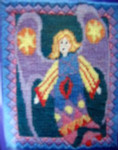 Mary Self Needlepoint Kit 7007 Angel For David