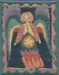 Mary Self Needlepoint Kit 7006 Angel For Caroline