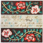 ND819 Red Rose Sampler Birds Of A Feather